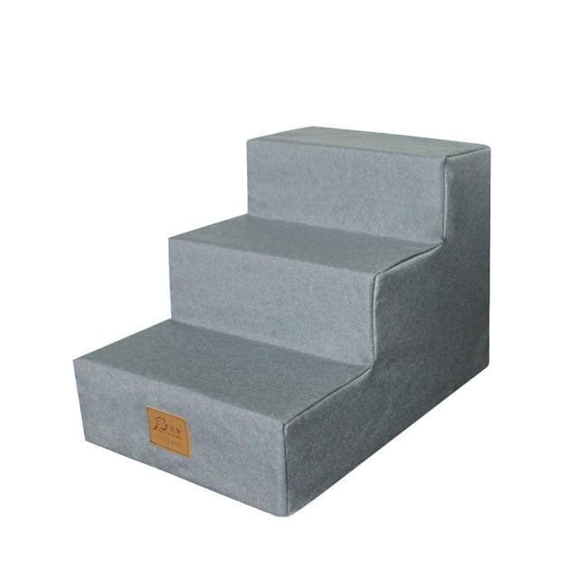 Let The Poor Dog Up On The Couch! Dog  Steps With Removable Washable Cover.  Sturdy & Steady. - thediggitydogstore.com