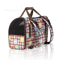 Luxury Canvas Dog Carrier Backpack Lots Of Patterns! - thediggitydogstore.com