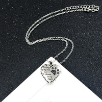 Memorial To Your Dog Necklace - thediggitydogstore.com