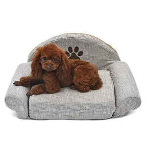 Miniature Dog Sofa Couch.  Adorable - thediggitydogstore.com