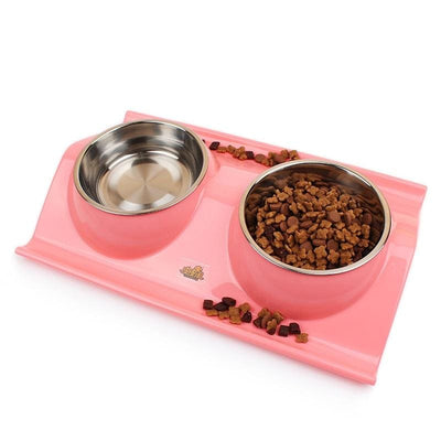 No-Skid No Mess Dog Food Bowls - thediggitydogstore.com