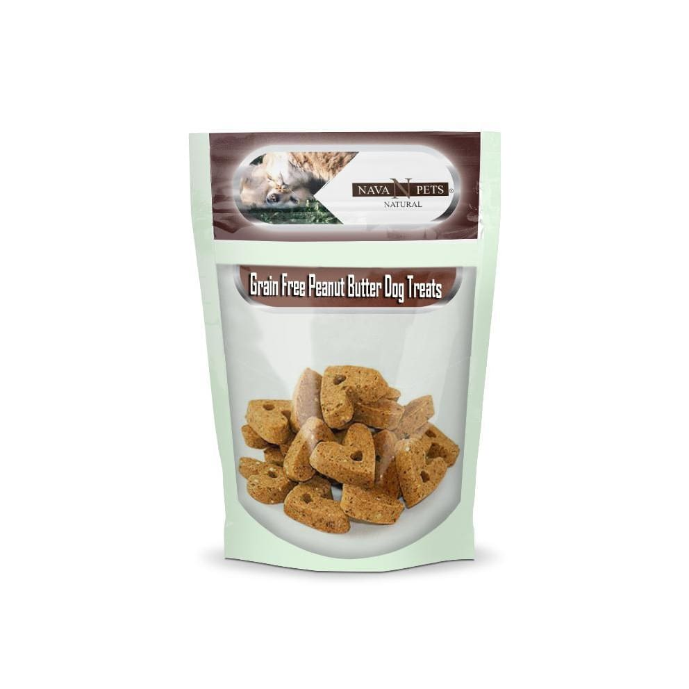 Peanut Butter Grain Free Dog Treats - thediggitydogstore.com
