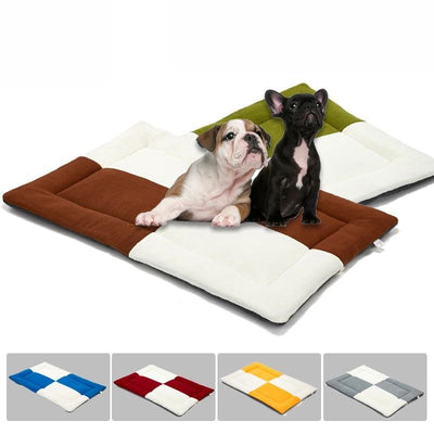 Plush & Soft Dog Mat.  Great Pattern With Great Colors.  S - XL - thediggitydogstore.com