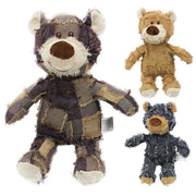 Plush Teddy Chew Toys.  Comes In Many Animals & Shapes.  Very Cute & Cuddly! - thediggitydogstore.com