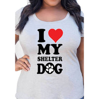 Shelter Dog Graphic Tee - thediggitydogstore.com