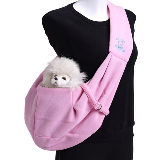 Small  Dog Sling Carrier - thediggitydogstore.com