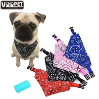 S/M/L Adjustable  Dog Bandana In Fun Colors - thediggitydogstore.com