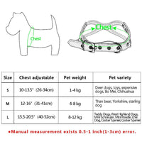 Soft Suede Leather Small Dog Harness 3 Styles - thediggitydogstore.com