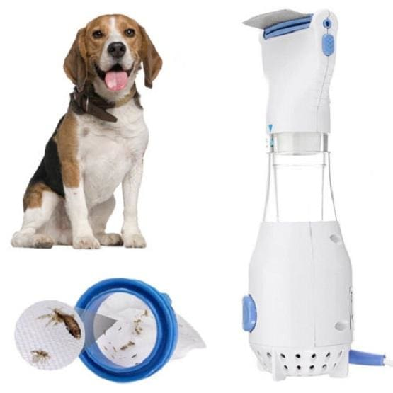 Vacuum Flea Comb for Dogs. Works! - thediggitydogstore.com