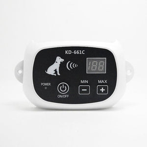 Wireless Remote Dog Fence System KD-661Pet Electronic Fencing Device Waterproof Dog Training Collar Electric Shock 0-100 Levels - thediggitydogstore.com