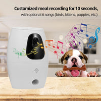 Wireless WiFi 720P Dog Camera Treat Dispenser. Keep An Eye On Your Dog & Give Them A Treat! - thediggitydogstore.com