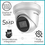 Professional Range 5MP Digital IP HD+ Hikvision Dome Camera CCTV System (Including Installation)