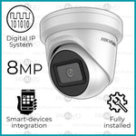 Ultra Range 8MP Digital IP UHD (4K) Hikvision Dome Camera CCTV System (Including Installation)