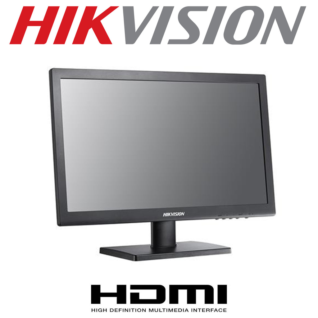 "HIKVISION DS-D5022QE 22"" CCTV HD MONITOR HDMI VGA AUDIO LED HD - Praivo"