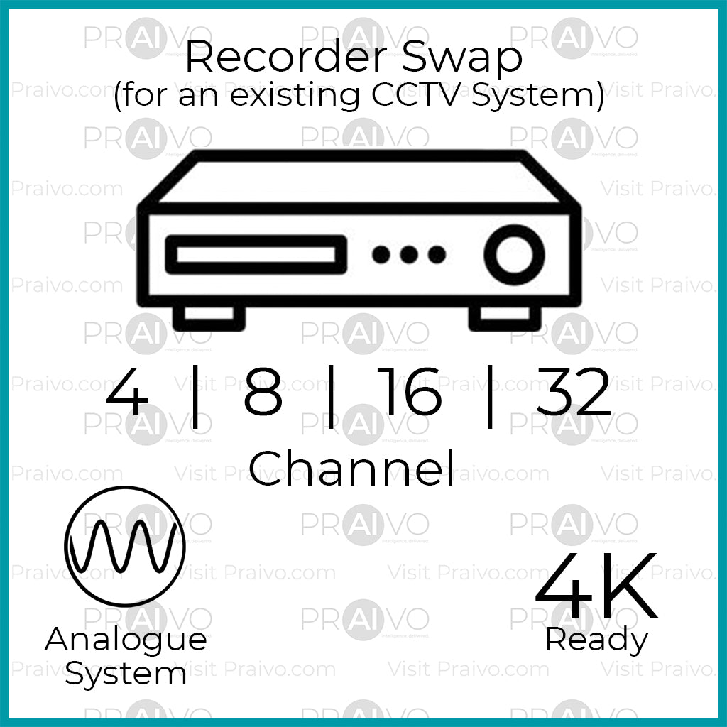 Analogue HD Recorder Upgrade (Existing System) (Free Installation) - Praivo
