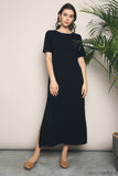 Skyler Jersey Maxi Dress Black (Backorder)