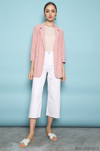 Axis Chic Blazer Pink (Backorder)