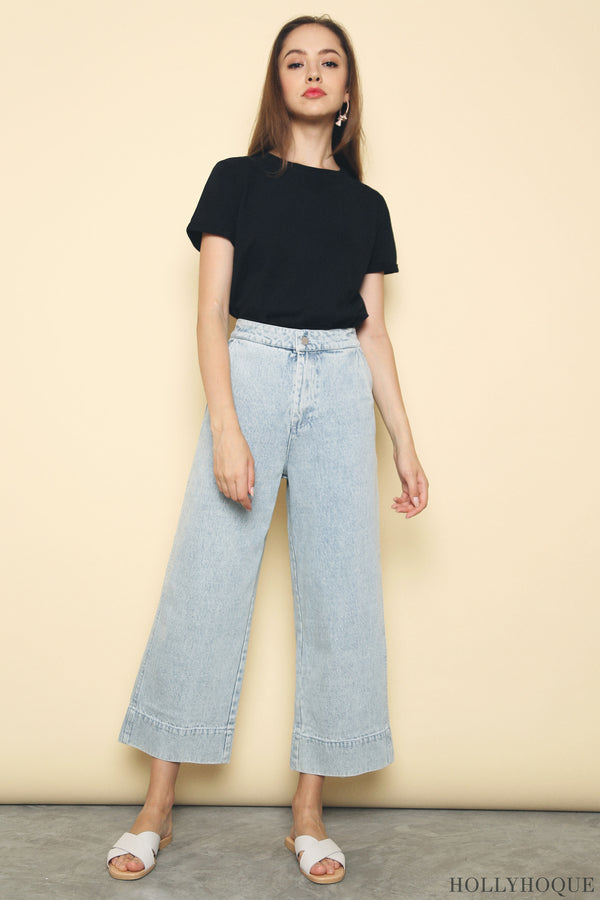 Leister Denim Pants Light Denim