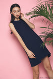 Kyer Sleeveless Basic Dress Navy (Backorder)