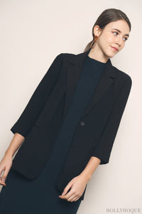 Axis Chic Blazer Black (Restock)
