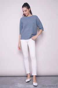 Gerber Oversized Knit Blouse Sky Blue (Restock)