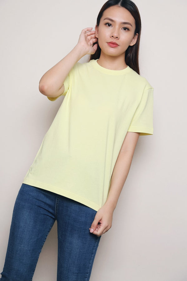 Somfy Cotton Tee Lemon Curd