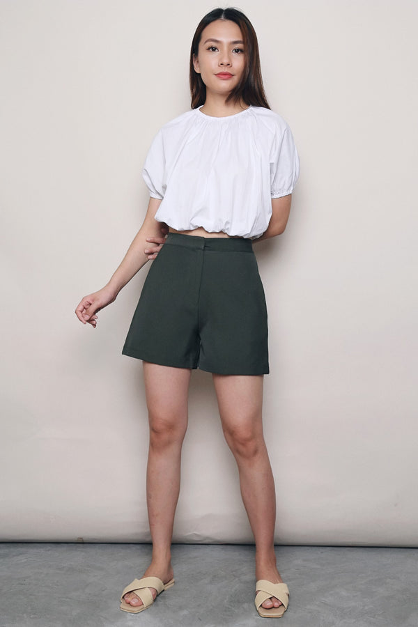 V2 Mom Shorts Pine Green
