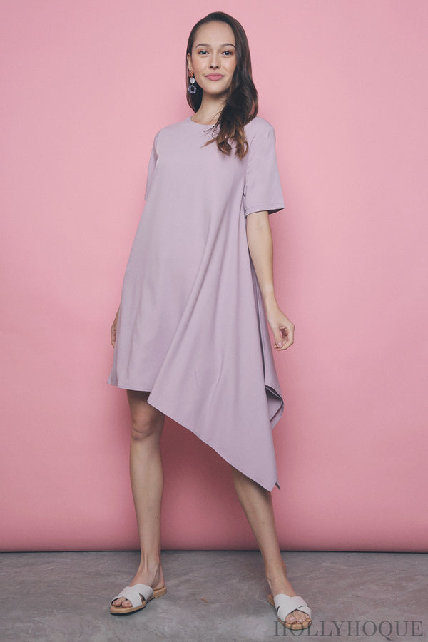 Morgan Dip Dress Pink