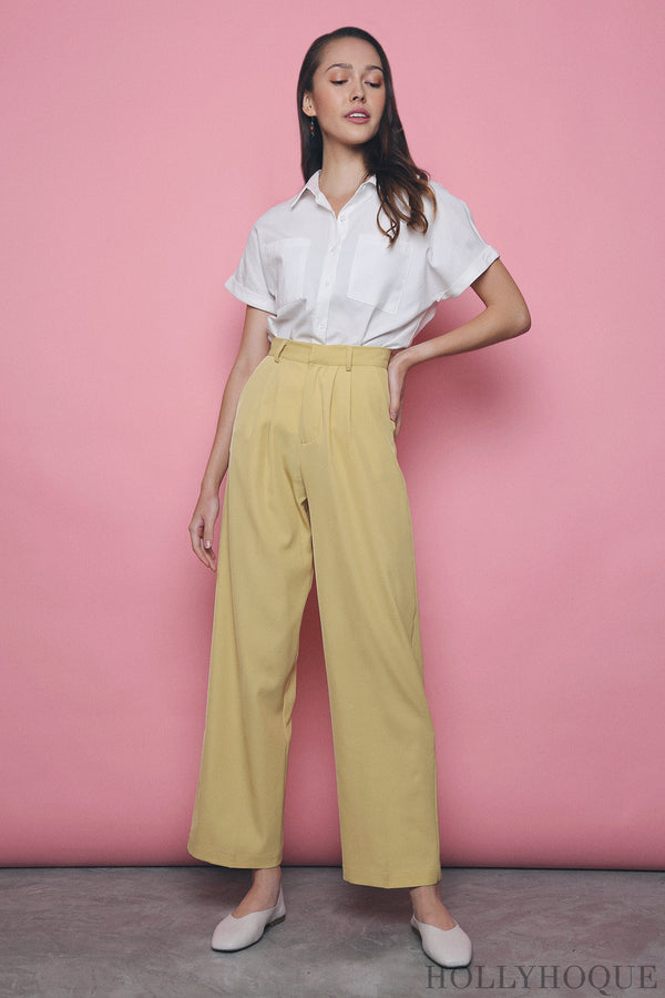 Penny High Waist Pants Sunshine