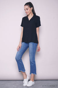 Persia Sleeves Shirt Black