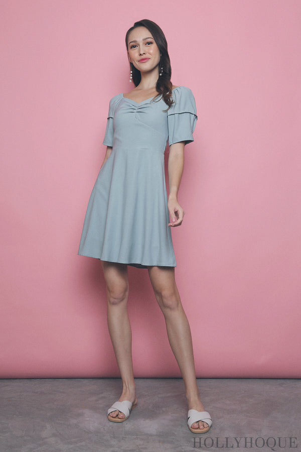 Sheya Sweetheart Dress Mint