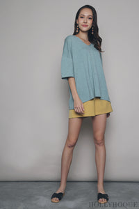 Smith Boxy Knit Top Mint