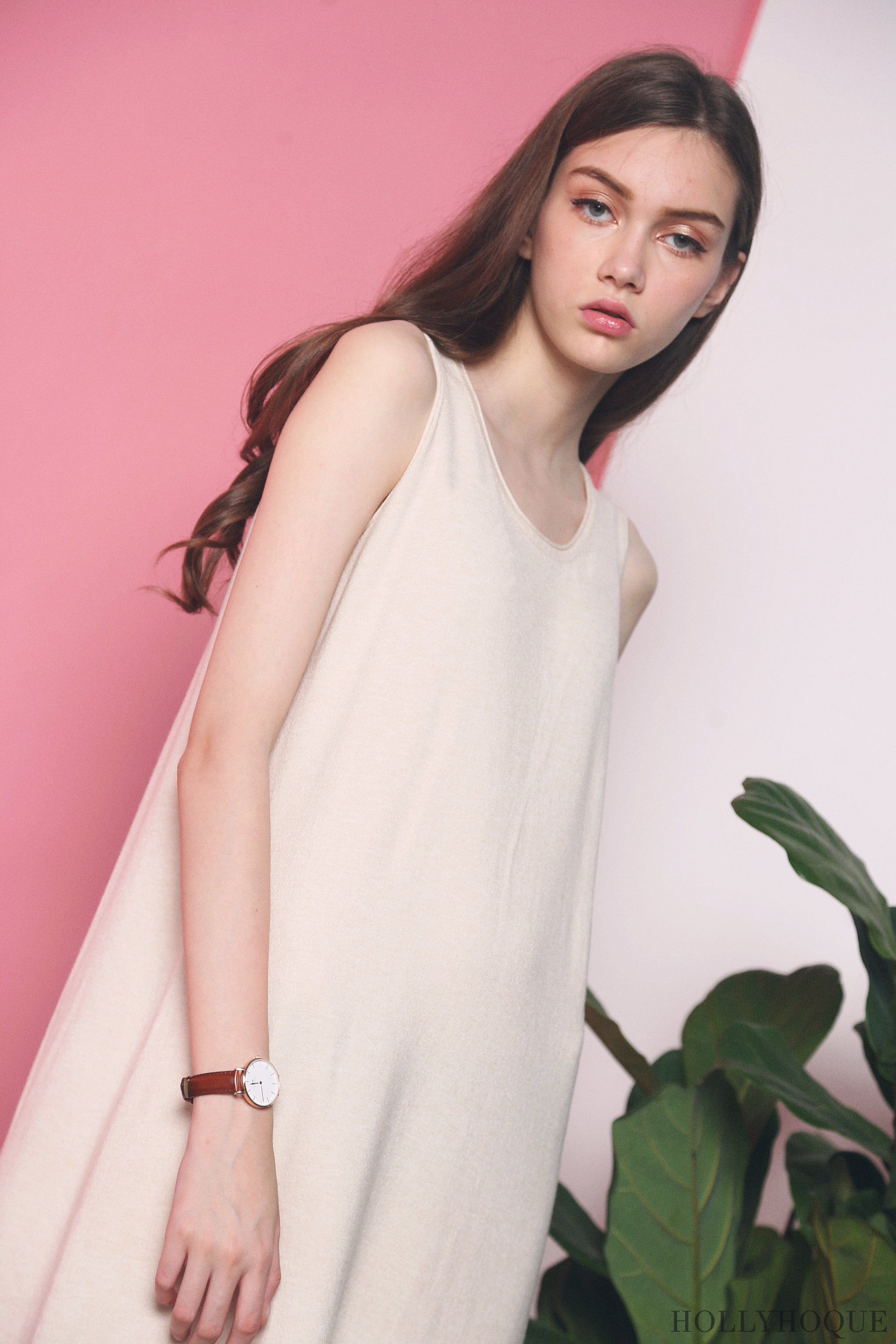 Willa Basic Knit Dress Malt (Restock)