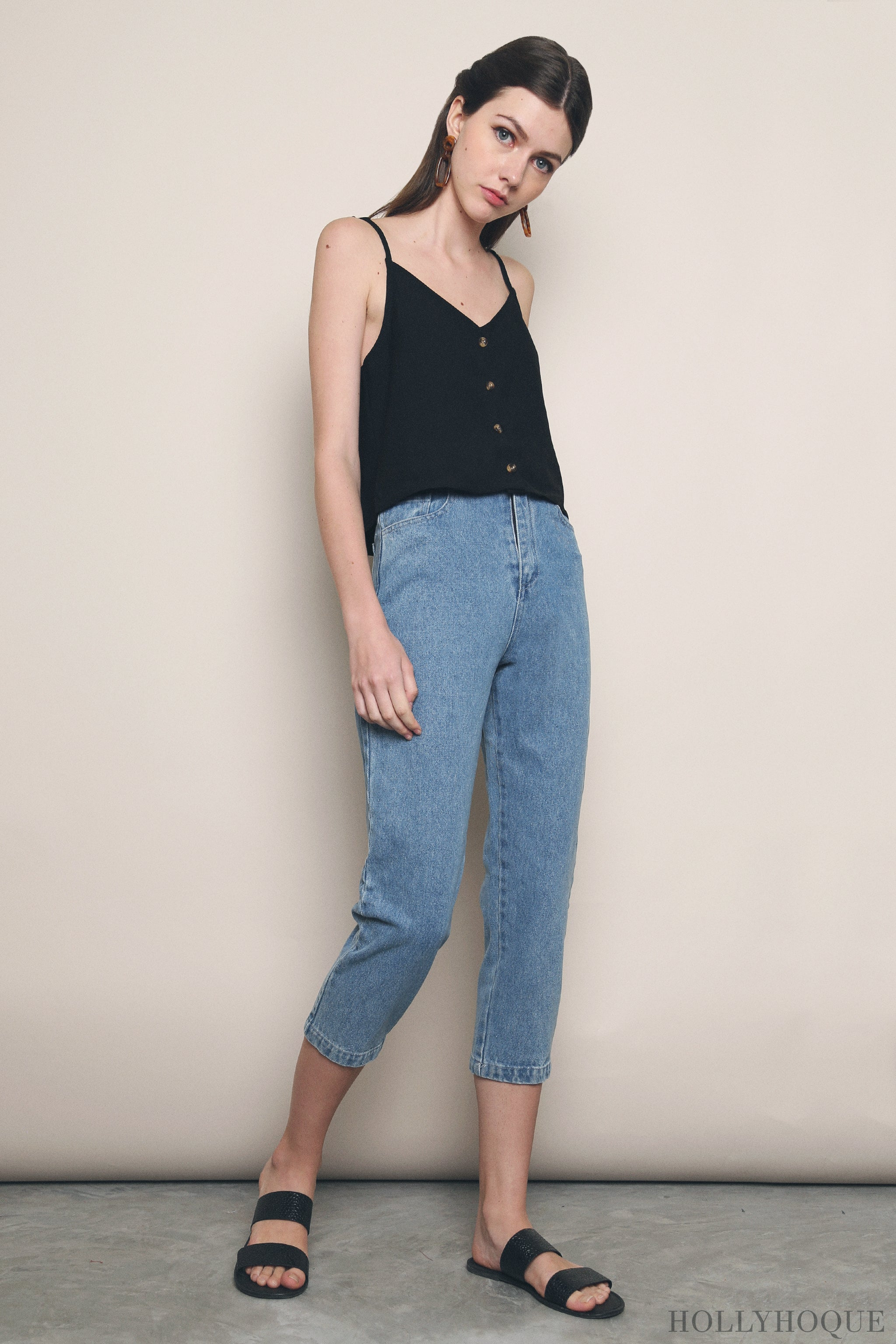 Tiffany Mom Jeans Light Denim