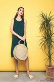 Willa Basic Knit Dress Emerald (Restock)