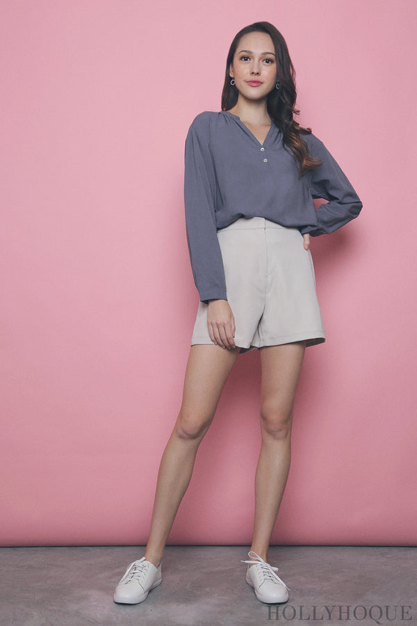 Chantilly Relaxed Shirt Grey