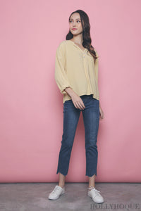 Chantilly Relaxed Shirt Yellow
