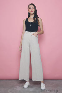 Meta Linen Pants Cream