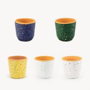 Macetero/Pot ODEMIRA moteado/mottled - S