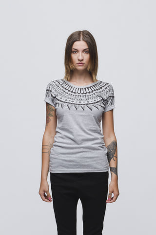 MOLLY //  GREY T-SHIRT