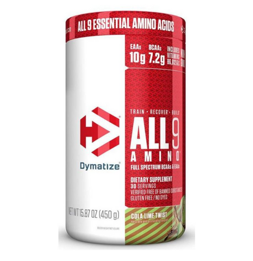 Dymatize (Multiple Flavors) All 9 Amino 15.87 oz. (450g) 30/svr