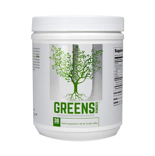 Universal Nutrition Greens Powder, Acai Berry/Kale/tuermic, 300 Gram