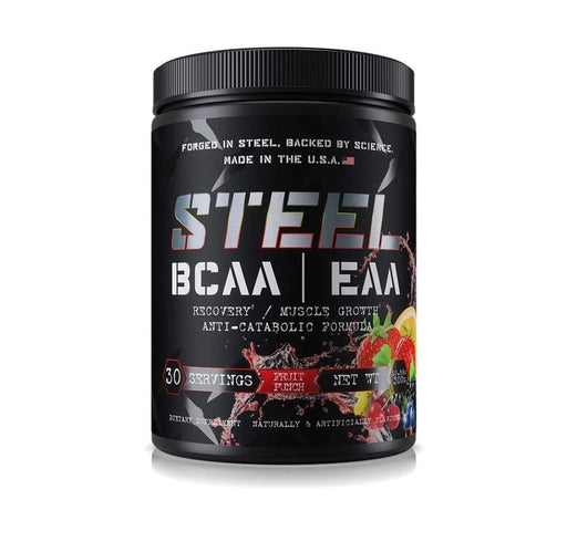 STEEL SUPPLEMENT BCAA / EAA 30svr. 300g