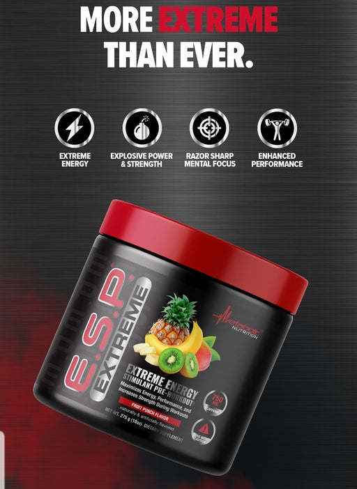 Metabolic Nutrition (Multiple Flavors) ESP Extreme  Pre-Workout
