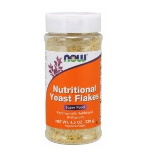 Now Nutritional Yeast Flakes Super Food 4.5oz 128g