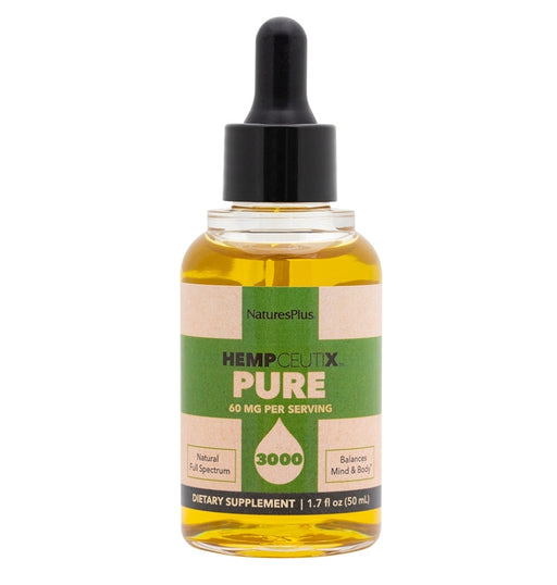 NaturesPlus HempCeutix Pure 3000 Oil 1.7oz. 50ml