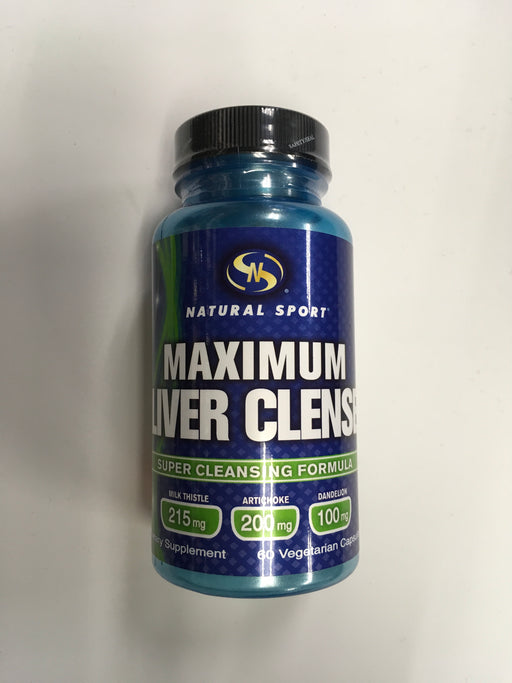 Natural Sport Maximum Liver Clense 60 VegCap.