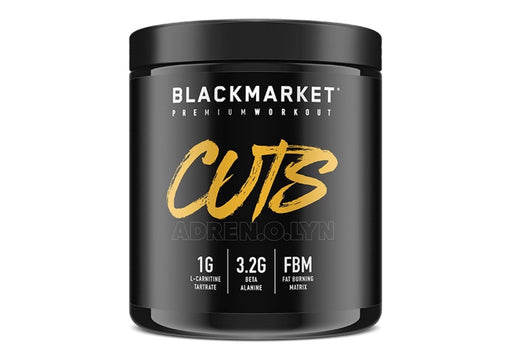 Black Market Labs Cuts Pre-Workout 8.47 oz. (240g) 30/svr