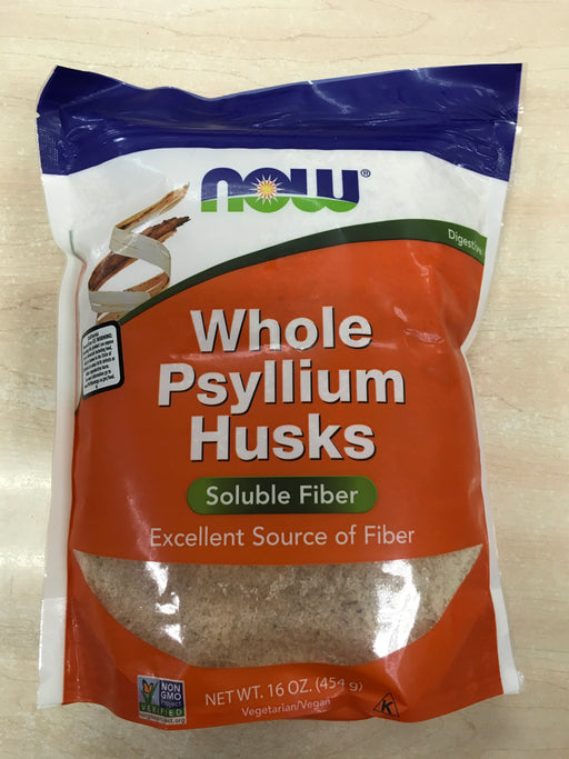 NOW Foods Whole Psyllium Husks,16 oz.