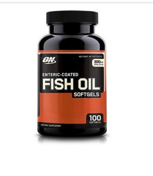 Optimum Nutrition Enteric-Coated Fish Oil Softgels, 100 Ct